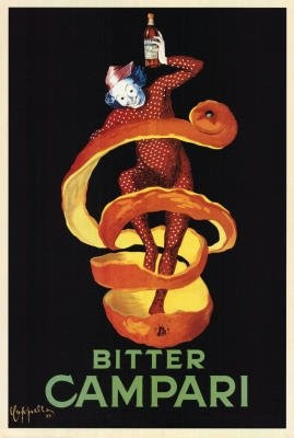 Poster - BITTER CAMPARI 60,96x91,44 foto