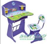 Birou copii cu scaunel, reglabile (CEL MAI IEFTIN)