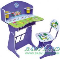 Birou copii cu scaunel, reglabile (CEL MAI IEFTIN) - Masuta/scaun copii