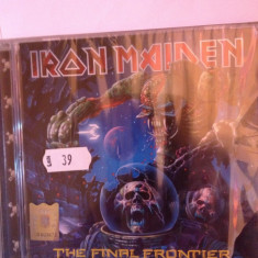 IRON MAIDEN - THE FINAL FRONTIER (2010/EMI REC/GERMANY) -ROCK - CD NOU/SIGILAT - Muzica Rock emi records