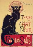 102.Poster - TOURNEE du CHAT NOIR 60,96x91,44