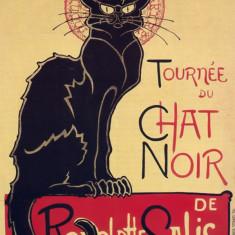 102.Poster - TOURNEE du CHAT NOIR 60, 96x91, 44 - Afis