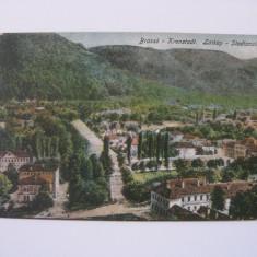 REDUCERE 10 LEI! C.P.CENZURATA WW I CU BRASOV DIN 1918 - Carte Postala Transilvania dupa 1918