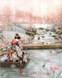 Poster - ASIAN LADY 33,02x48,26