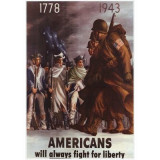 199.Poster - AMERICANS 33,02x48,26