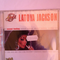 LATOYA JACKSON - SEXUAL FEELING (2000) - CD NOU/SIGILAT, Galaxy