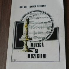 IOSIF SAVA, LUMINITA VARTOLOMEI - MUZICA SI MUZICIENI. DICTIONAR