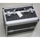 Geanta cosmetica Beauty Case din aluminiu, geanta de make-up  OFERTA !!!