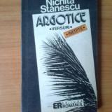 G1 Nichita Stanescu - Argotice - Roman, Anul publicarii: 1992