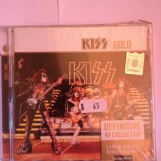 KISS - GOLD (definitive collection 2cd)- 2005/MERCURY REC/GERMANY cd nou/sigilat, universal records