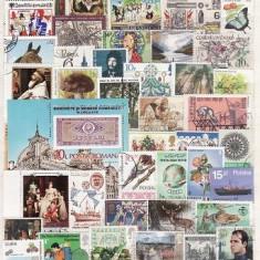181 - Lot timbre stampilate si nestampilate diverse tari
