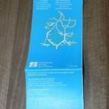 ghidul autostrazilor din franta 1994-1995. pliant. harta