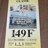 brosura cu hoteluri franta - HOTEL PREMIERE CLASSE 1994