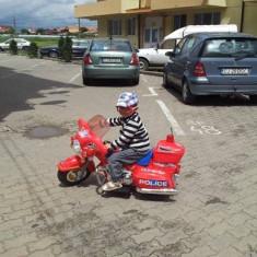 Motocicleta electrica - Masinuta electrica copii, Rosu