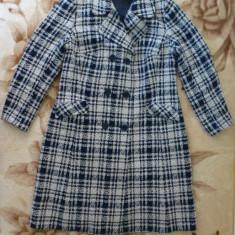 Palton elegant dame, lana; marime 40, vezi dimensiuni exacte; impecabil, ca nou - Palton dama, Culoare: Din imagine