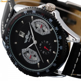 Ceas MILITAR ARMY DELUXE/FASHION FULL AUTOMATIC WINNER Black! mecanic automatic CALITATE GARANTATA! CEL MAI MIC BUN RAPORT PRET CALITATE