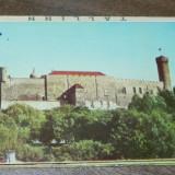 MAPA PLIANT 9  ILUSTRATE TALLINN 1964. vederi. ilustrate. necirculate