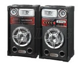 Cumpara ieftin SISTEM 2 BOXE ACTIVE/AMPLIFICATE CU MIXER INCLUS,MP3 PLAYER,200 WATT P.M.P.O,EFECTE KARAOKE+2 MICROFOANE BONUS!