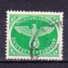 Timbre D.R. FELDPOSTMARKEN 1944 - PAJURA CU ZVASTICA