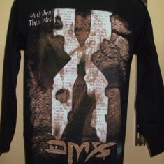 BLUZE hip - hop DMX - Bluza barbati, Marime: M, Culoare: Negru, La baza gatului, Bumbac