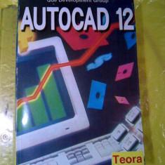 AUTOCAD 12 -- Marius Dinescu (posib. exped de la 5 lei sau gratuit) - Manual Autocad, Teora