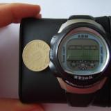 Ceas unisex ABM WR30M Electronic Alarm Chrono EL Black Light Sport Watch