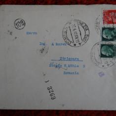 Plicuri circulate Italia - Romania cu CENZURA