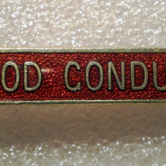 I.435 INSIGNA GOOD CONDUCT 45mm email