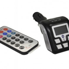 Modulator FM Auto Bluetooth, Mp3 Player si Car Kit