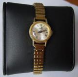 Ceas dama CRONEL Mecanic Swiss 983 purtat 17 Jewels Shock Protected auriu