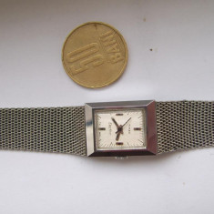 Ceas dama Timex Electric Electronic retro vintage model vechi original c-cell, Fashion, Quartz, Inox, Analog