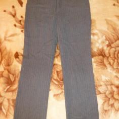 Pantaloni de gala Zara Woman Made in Spain; marime 38: 84 cm talie; ca noi - Pantaloni dama Zara, Culoare: Din imagine