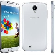 Samsung galaxy s4 white foliat - Telefon mobil Samsung Galaxy S4, Alb, 16GB, Neblocat, 1500-1799 MHz