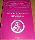 SISTEME INFORMATICE IN MANAGEMENT - Gheorghe Sabau / Vasile Avram, Alta editura