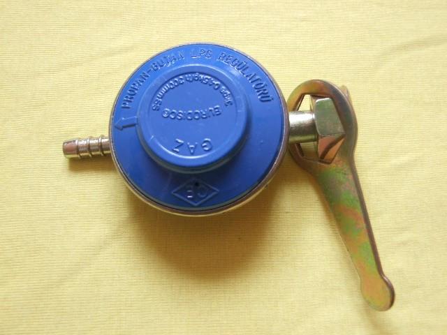 REGULATOR pentru GAZ , PROPAN , BUTAN ,  LPG  1.5Kg/h , 300mm/SS