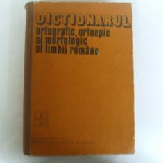 Dictionarul ortografic, ortoepic si morfologic al limbii romane Bucuresti 1982