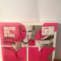 PINK - HITS...SO FAR !!! (best of)- 2010/SONY MUSIC - CD NOU/SIGILAT - Muzica Pop