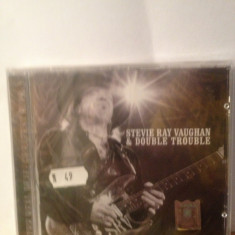 STEVIE RAY VAUGHAN & DOUBLE TROUBLE - GREATEST HITS 1 (2006/SONY) cd nou/sigilat - Muzica Rock sony music