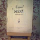 C. Meitert - Manual de muzica pentru clasa a V a (fara prima coperta) - Manual scolar, Clasa 5, Alte materii