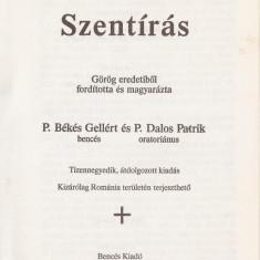 UJSZOVETSEG / NOUL TESTAMENT (1993 - editie catolica de studiu in lb. maghiara } - Biblia