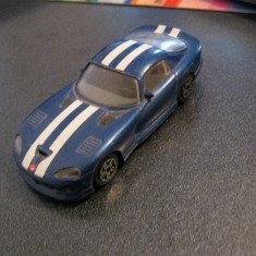Macheta 1/43 Dodge Viper GTS Coupe - Bburago, made in Italy - Macheta auto