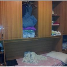 Vand Dormitor cu pat rabatabil adus din Italia. - Dormitor complet