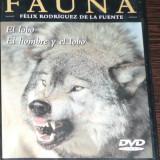 DVD VIDEO - GRAN ENCICLOPEDIA DE LA FAUNA - EL LOBO. EL HOMBRE Y EL LOBO
