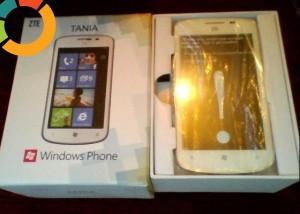 VAND TELEFON ZTE TANIA Windows Phone 7.8 foto