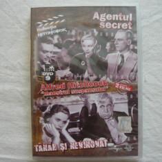 DVD Agentul Secret/Tanar si Nevinovat de la ADEVARUL, Colectia Alfred Hitchcock,, maestrul suspansului'' - Film drama, Romana