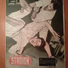 revista stadion aprilie 1958