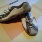 Pantofi Sport Car SHOE ideali pentru soferi - Pantofi barbat, Marime: 42, Culoare: Bej, Piele naturala, Bej