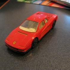 Macheta 1/43 Ferrari Testarossa - Bburago, made in Italy