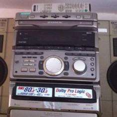 Mini Hi-Fi Component System Sony RXD10AV - Combina audio Sony, Clasice