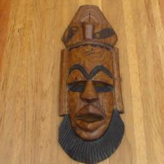 Masca de lemn, africana nr61